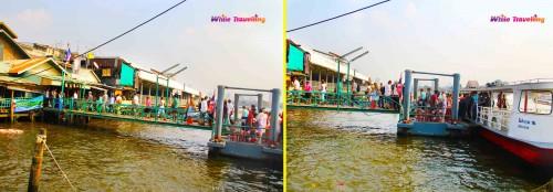 Tha Thien Pier in Bangkok