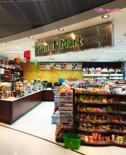 Family Mart in Suvarnabhumi Airport, Bangkok