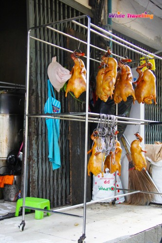 """Grab and go"" style street food in Bangkok"