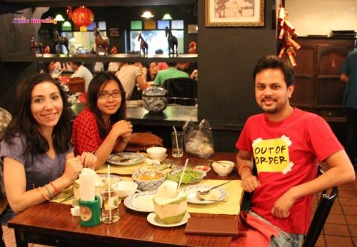 Siam'daki Ban Kuhn Mae Restoranı, Bangkok