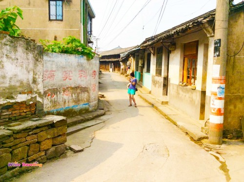 One of the little villages in Yuyao, Zhejiang Province