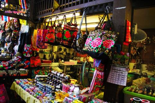 Tha Thien Pier Bazaar in Bangkok