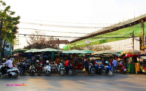 Open air transportation vehicles, Bangkok
