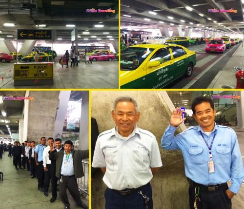 Bangkok Suvarnabhumi Havaalanı'ndaki güler yüzlü taksiciler