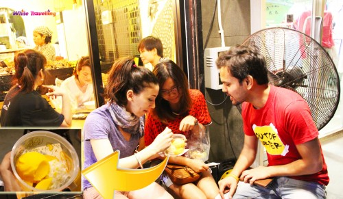 Sticky Rice Mango at Mango Tango Cafe in Siam, Bangkok