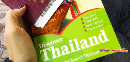 Thailand by Lonely Planet, my favourite book.