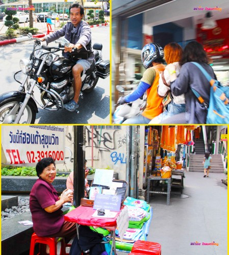 Yolda kamerama takılan insanlar, Bangkok