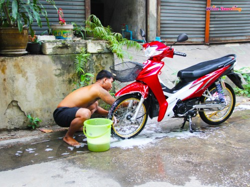 The local Thai man in Bangkok
