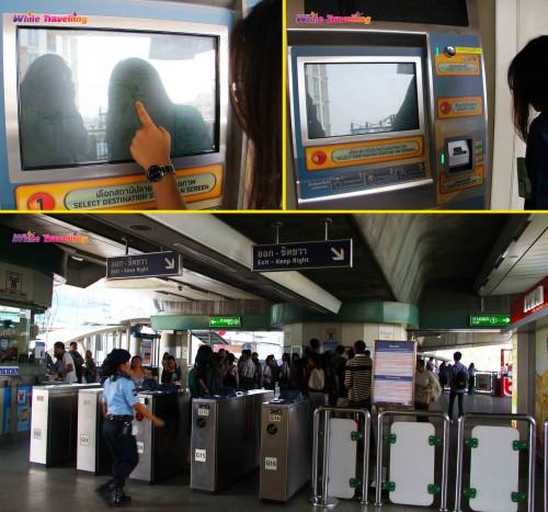 SKY treni istasyonu, Bangkok