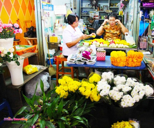 A flower shop, Bangkok