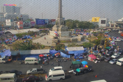 Protests at Victory Monument