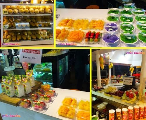 Delicious food at Suvarnabhumi Airport, Bangkok