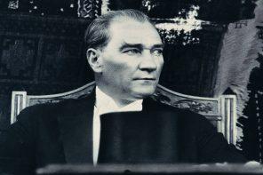 Yurtdışında kalbimde Atatürk