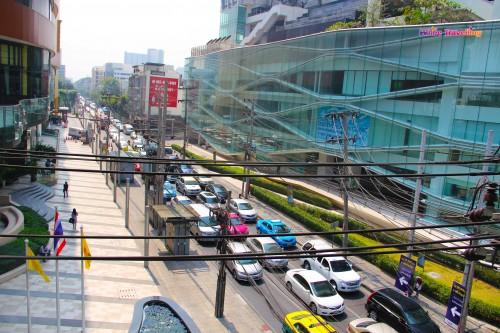 Tipik Bangkok trafiği
