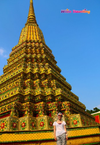 Phra Maha Chedi Si Rajakan in  Wat Pho, Bangkok