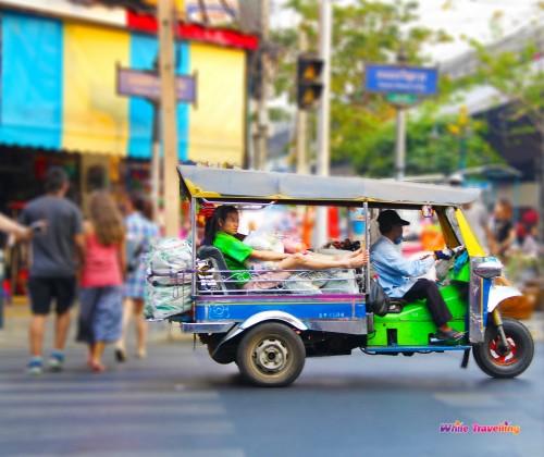 Bangrak Bazaar in Bangkok