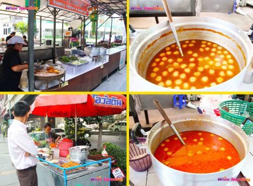 Bangkok'ta sokak yemekleri