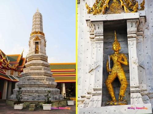 Phra Maha Stupa/ Phra Prang at Wat Pho, in Bangkok