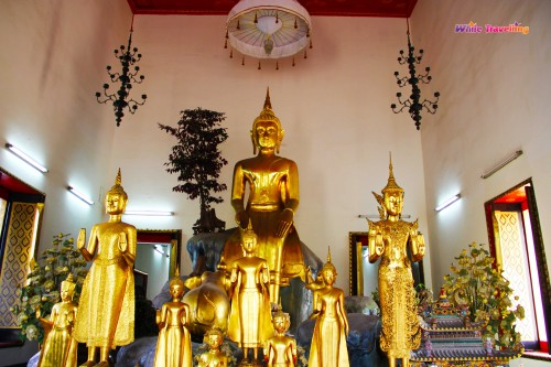 Buddha images at Wat Pho in Bangkok