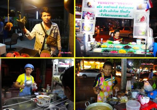Bangkok sokak yemekleri