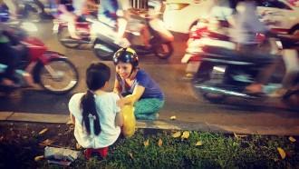 Ho chi Minh'de sokak lambasu projesi