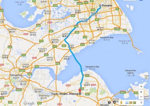 MAP Shanghai-Yuyao