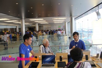 Apple store, IDC Mall, Hongkong