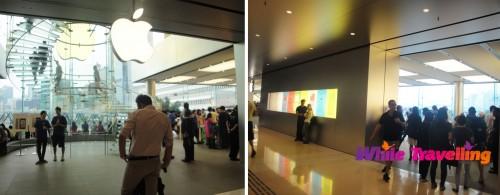 Apple store in IFC, Shopping mall, Hongkong