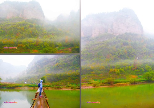 The view from the bridge in Xinchang