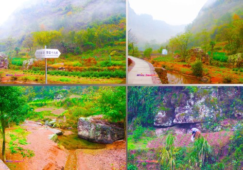 Our way to Xinchang National Geopark