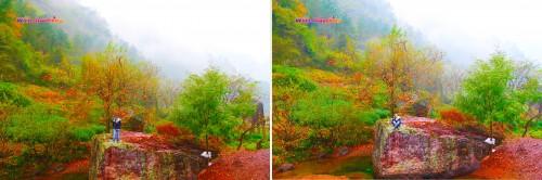 Exploring Xinchang National Geopark like a kid