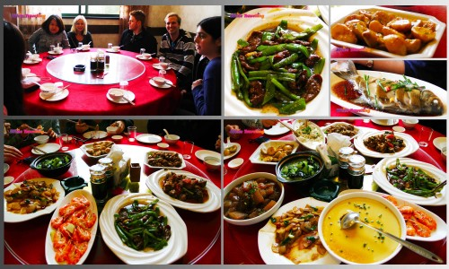 Delicious food in Xinchang