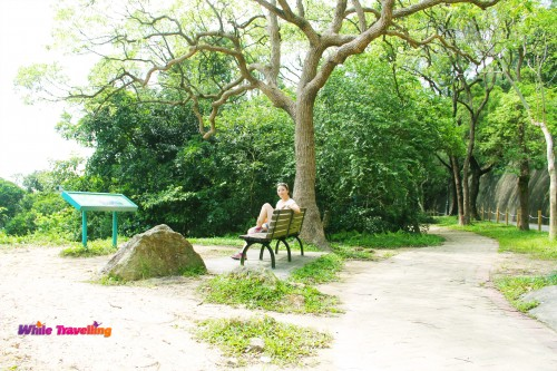 One of the other perfect spots to rest in Victoria Trail, Hongkong