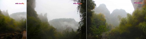Mystical valleys of Xinchang