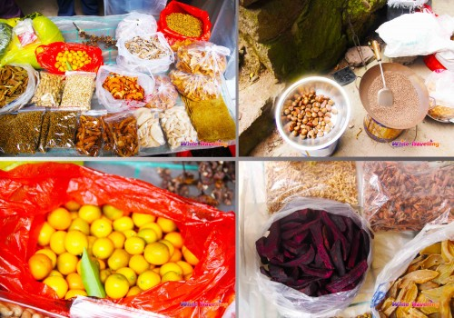 The organic goodies sold in the cave