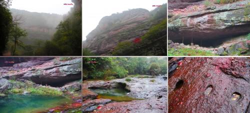 A shot from Xinchang National Geopark