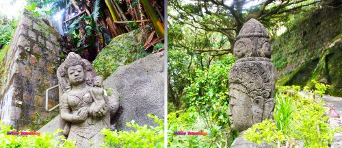 Statues in Victoria Trail, Hongkong