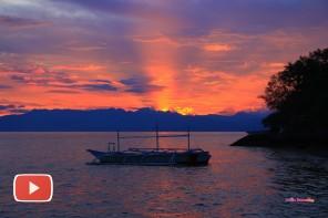 Sunrise  and sunsets at Sampaguita Dive Resort
