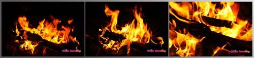 Campfire in Xinchang