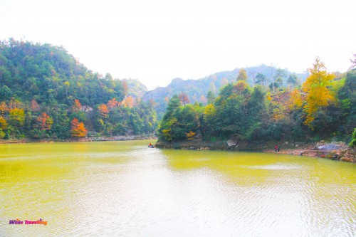 Tianzhu Lake Wonderland Scenic Area in Xinchang