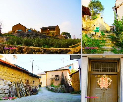 The village in Tianzhu Wonderland Scenic Area in Xinchang