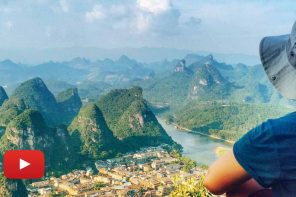 The cuttest hills of Yangshuo