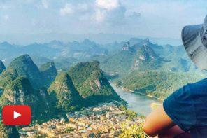 Yangshuo'nun minnoş tepeleri